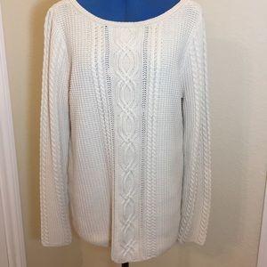 Jeanne Pierre Cable Gauge Sweater
